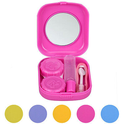 Cute Mini Contact Lens Easy Carry Case Travel Kit High Quality Contact Lens Box