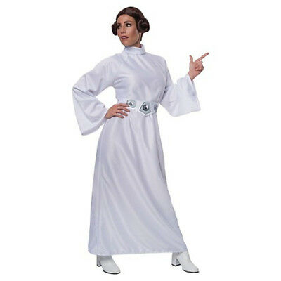 Star Wars PRINCESS LEIA Halloween Costume Standard One Size Adult Woman Cosplay