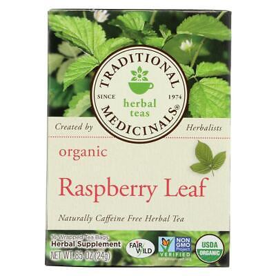 Traditional Medicinals-Organic Raspberry Leaf Herbal Tea - Caffeine Free, 1 -