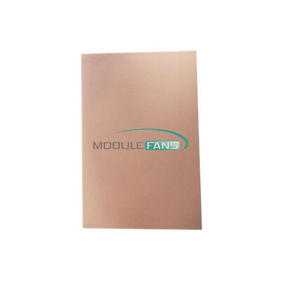 10.5x7cm Fr4 Copper Clad Laminate Sheet Circuit Double Side Pcb 70x105x1.5mm New