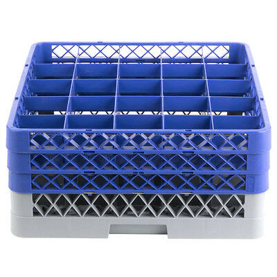 New Commercial Dishwasher Dish Washer Machine 25 Cup Glass Tray Rack 3 Extenders