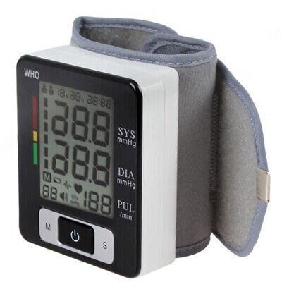 Tensiómetro Digital Medidor Monitor de Presión Arterial Muñeca Brazo Deteccion