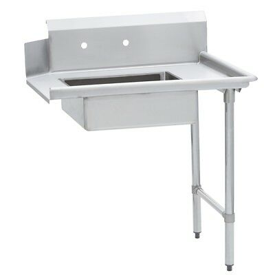 Commercial Kitchen Stainless Steel Soiled Dish Table Right Side 30 X 60 Ss