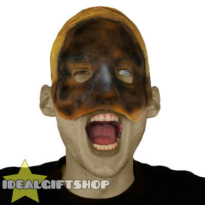 MUMMY FACE HALLOWEEN MASK HORROR FACE FLESH NIGHTMARE SCAR FANCY DRESS