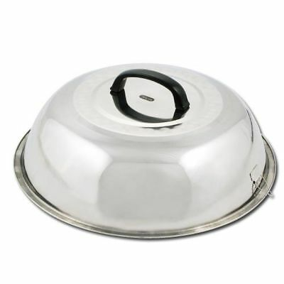 Winco Wkcs-15 15.75-inch Wok Cover Stainless Steel