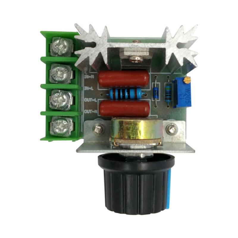 2000W AC50-220V 25A Adjustable Motor Speed Controller Voltage Regulator PWM New