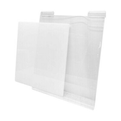 Clear Acrylic T-shirt Display Store Panel For Slatgrid Gridwall 11-12 X 15