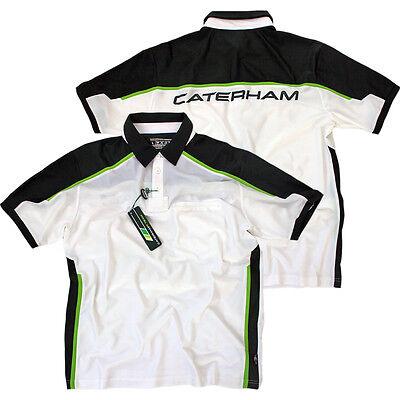 Caterham HPE Performance Team F1 Polo Poloshirt Herren Shirt Formel 1 Gr. XL NEU