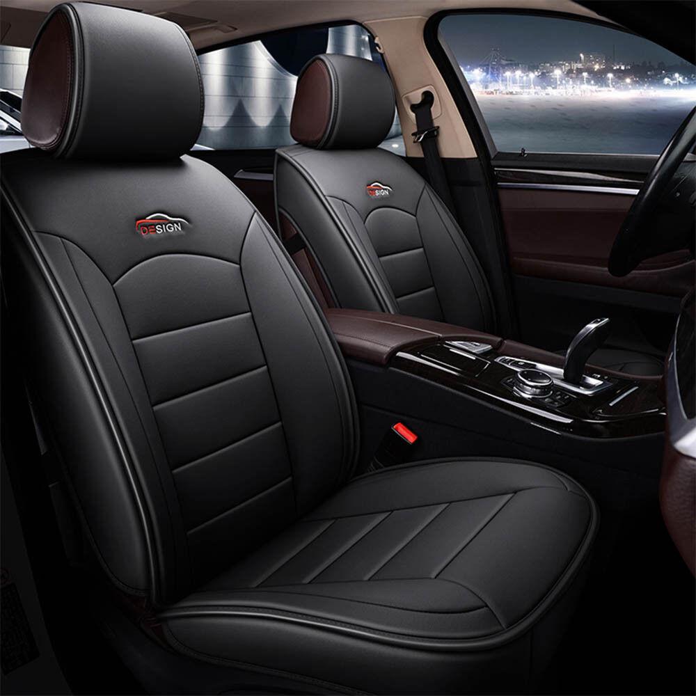 Swell 7X Car Leather Seat Cover Front Rear For Hyundai Elantra Sonata Ix35 Kia Optima Ebay Theyellowbook Wood Chair Design Ideas Theyellowbookinfo