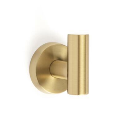 Amerock Arrondi Wall Mount Single Robe Hook in Brushed Bronze//Golden Champagne