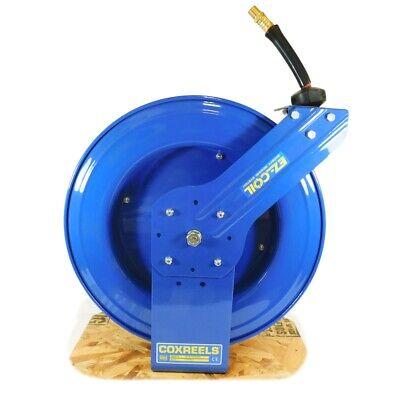 Coxreels Ez-sh-450-rh-bxb Spring Return Hose Reel 50 Ft 300 Psi Air Water 12...