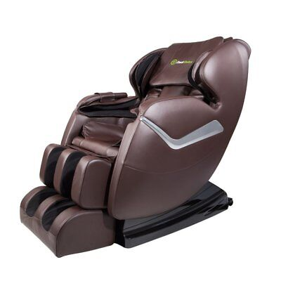Foot Massage Chair - 2019 Real Relax Full Body Shiatsu Massage Chair Recliner ZERO GRAVITY Foot Rest