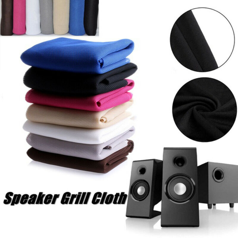 Mesh Speaker Fabric Dustproof Audio Cloth Cloth Stereo Grill