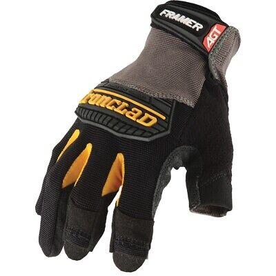 Ironclad Fug Framer Fingerless Carpentry General Work Gloves
