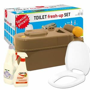Thetford-Replacement-Toilet-C200-Cassette-Seat-Fresh-Up-Kit-Caravan-Motorhome