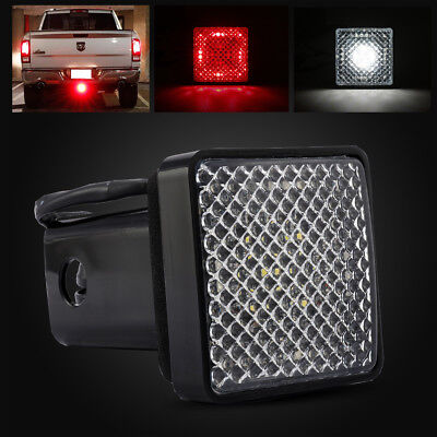 LED Running/Brake/Reverse Light for Trailer Towing Hitch Cover w/ 2