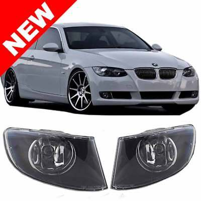 07-11 BMW E92/E93 2DR COUPE/CONVERTIBLE FRONT BUMPER FOG LIGHTS - CLEAR 2dr Clear Fog Lights