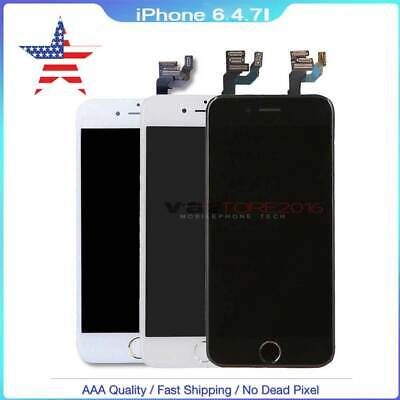 FOR OEM iPhone6 A1549 A1586 LCD Touch Screen Replacement with Home Button+Camera