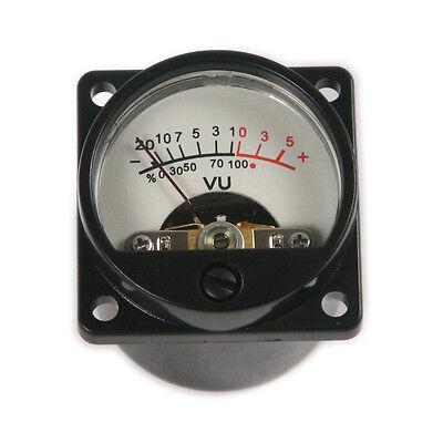Panel Vu Meter Warm Back Light Recording Audio Level Amp