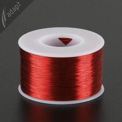 31 AWG Gauge Magnet Wire Red 2000' 155C Solderable Enameled Copper Coil WindingS