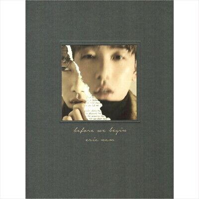 Eric Nam -  Before We Begin Korea Import  CD Sealed