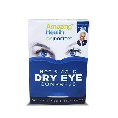 Amazing Health The Body Doctor Hot Eye Mask Compress Heat Bag for Dry Eye