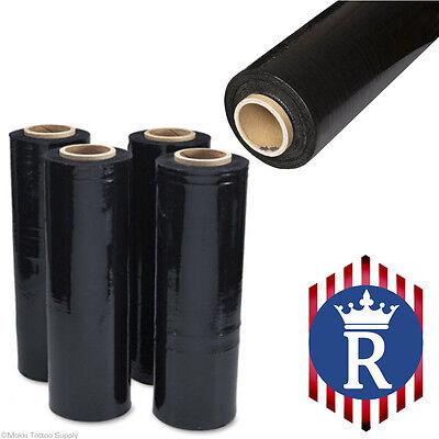 Hand Stretch Film Black Pallet Wrap 18 X 1500 Ft 80g