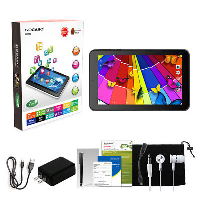 "7"" Inch Android 4.4 KitKat Tablet PC 8GB Quad Core Dual Camera 1.3 GHz Xmas Gift"