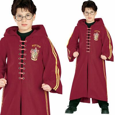 Kinder Harry Potter Deluxe Quidditch Schule Robe Halloween Kostüm
