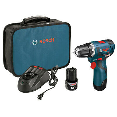 Bosch 12v Max Li-ion 38 In. Brushless Drill Driver Kit Ps32-02 Recon