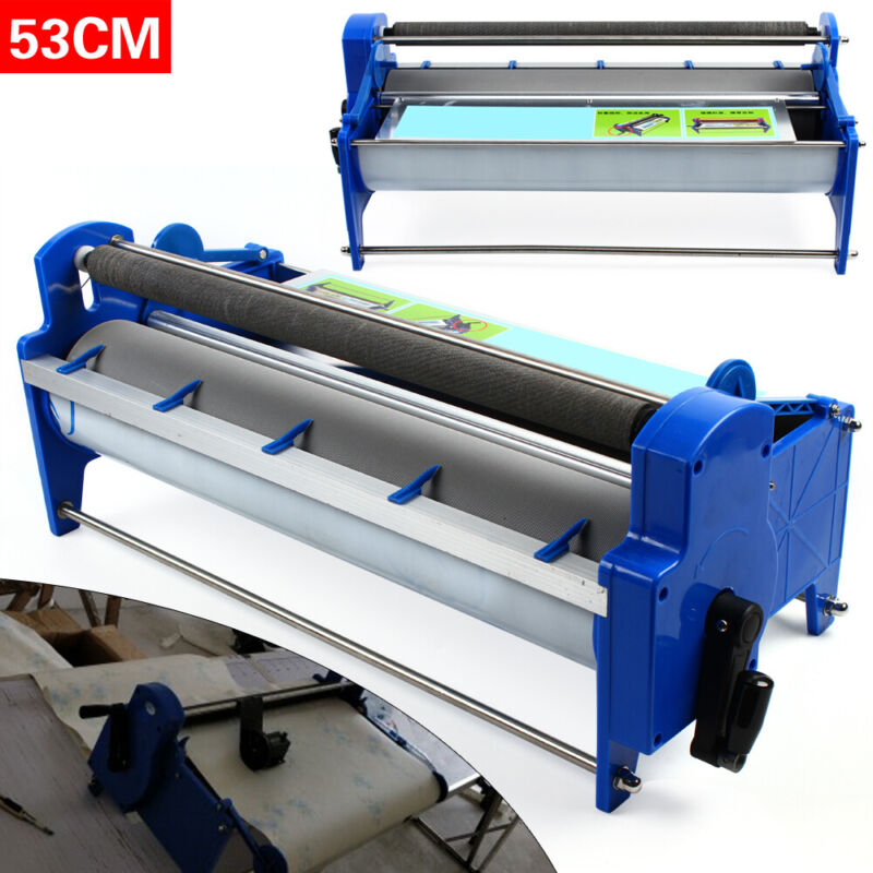 New Gluing Coating Machine for Paper 53cm Wallpaper Glue Paste Machine 8L groove