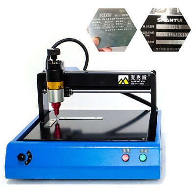 Signage Electric Router Metal Marking Machine Nameplate Letters Marking Machine