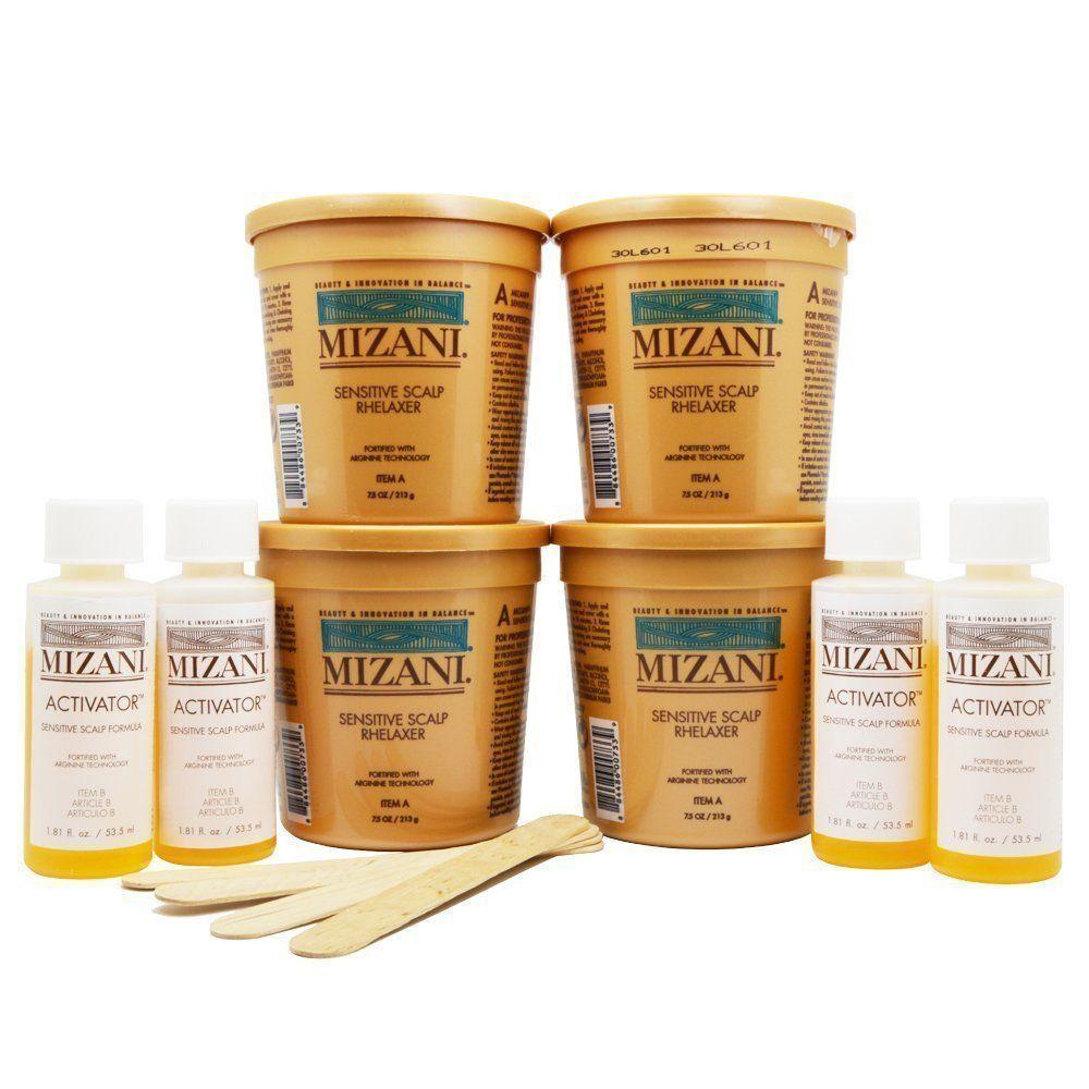 Mizani Sensitive Scalp Relaxer 4 Application Kit Hair Care & Styling
