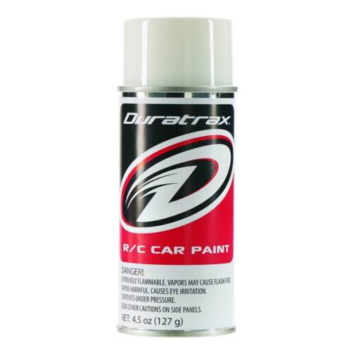Duratrax Bright White Lexan Body Spray Paint 4.5oz DTXR4251