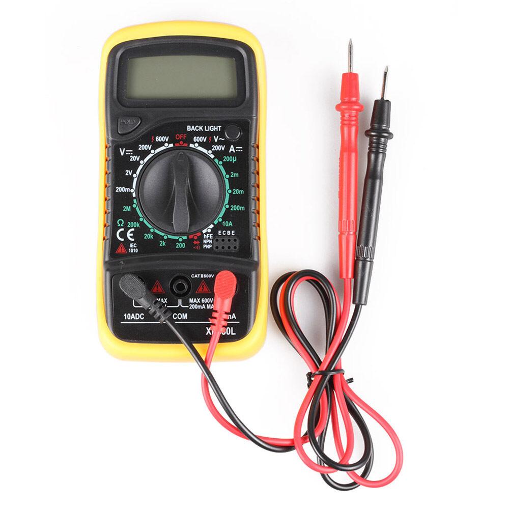 Ac Dc Voltmeter : Digital lcd multimeter voltmeter ammeter ac dc ohm current