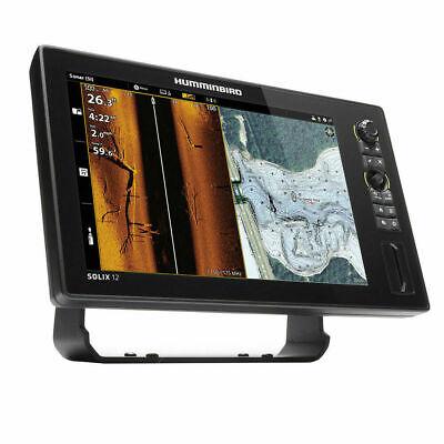 HUMMINBIRD SOLIX 12 CHIRP MEGA SI FISHFINDER/GPS COMBO G2 W/TRANSDUCER  411030-1