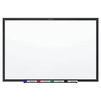 Magnetic Dry-erase Board - 24 Width X 18 Height White Black Quartet Sm531b