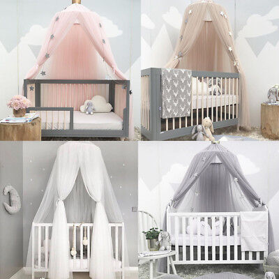 Dome Bedding Girl Princess Mosquito Net Baby Bed Canopy Tent Curtain Room Decor](Tent Decorations)