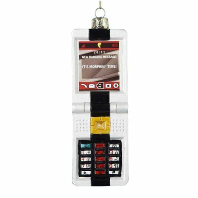 Kurt Adler Glass Power Rangers Morpher Key Pad Ornament - Power Rangers Glasses