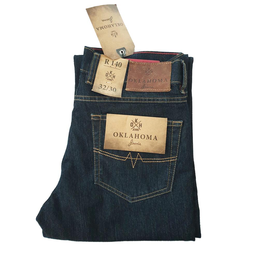 Oklahoma Jeans Herren R140 Dark Blue NEU