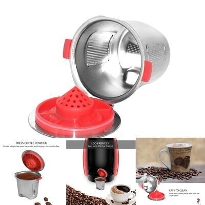 Hot Stainless Steel Classic Reusable Coffee Filter For Keurig K Cup Basket K-cup