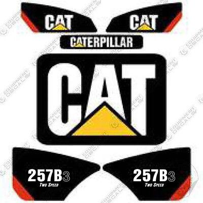Caterpillar 257b-3 2-speed Decal Kit Skid Steer Equipment Decals 257 B 3