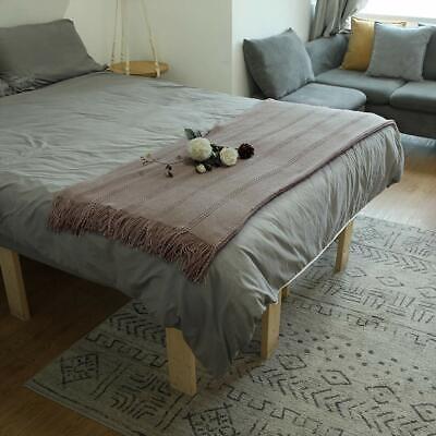ALPHA HOME Cable Knit Throw Blanket Acrylic Cozy Sofa Throw- 50