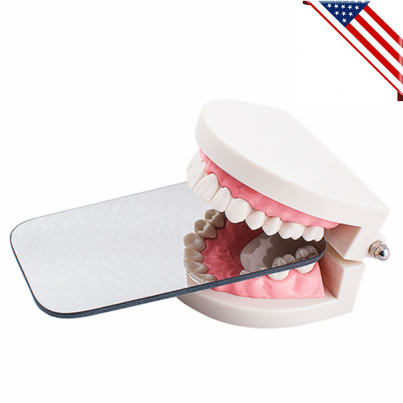 a+Dental Intraoral Orthodontic Photo Mouth Mirror 2Sided Occlusal Reflector USPS