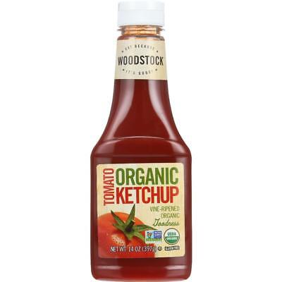 Woodstock Farms-Organic Tomato Ketchup (16-14 oz bottles)