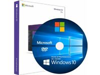 Windows 10 8 7 Vista XP Laptop Computer Recovery Repair Reinstall DVD CD Disc Disk USB