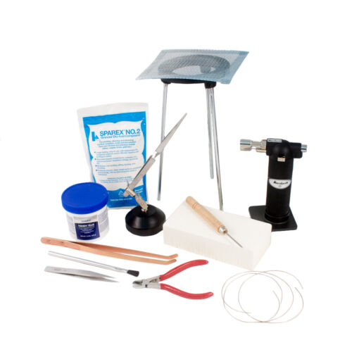 Standard Jewelry Soldering Kit with Silver Solder Wire SFC Tools Kit-1750