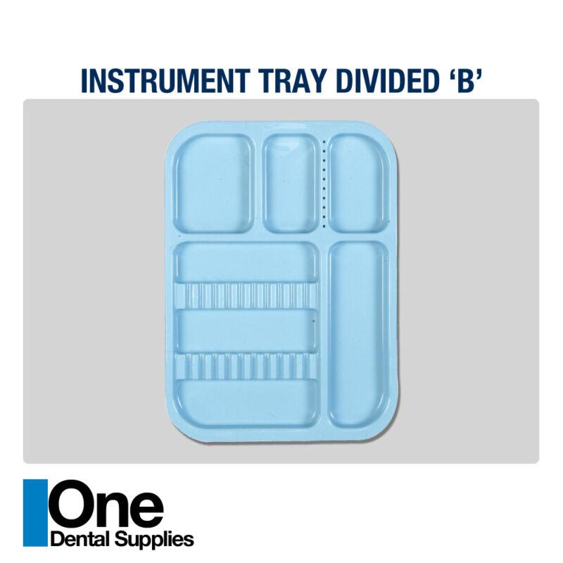 Dental Instrument Trays Divided 10 pcs