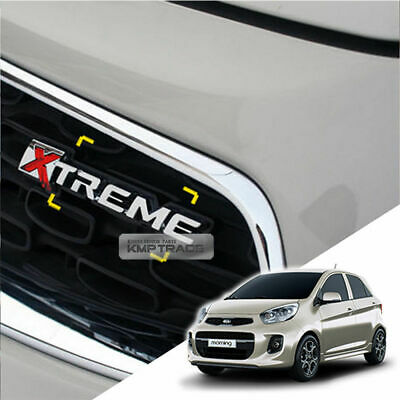 Front Hood Radiator Grille Xtreme Emblem Badge for KIA 2011-2017 Picanto