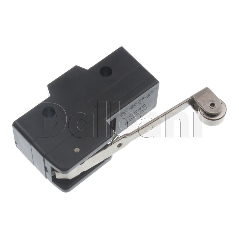 2pcs LXW5-11G1 Micro Tactile Switch Hinge Roller Lever 10A 380V 3 Pin 10W